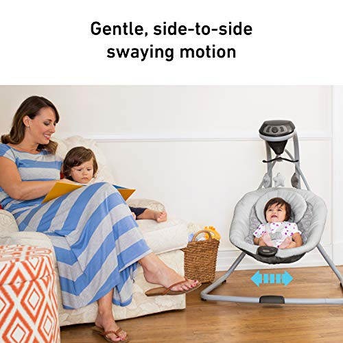 512tdlNZdsL The Best Plug In Baby Swings with AC Adapter for 2021