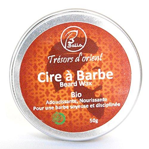 Balla - Cire à barbe coiffante bio 50g