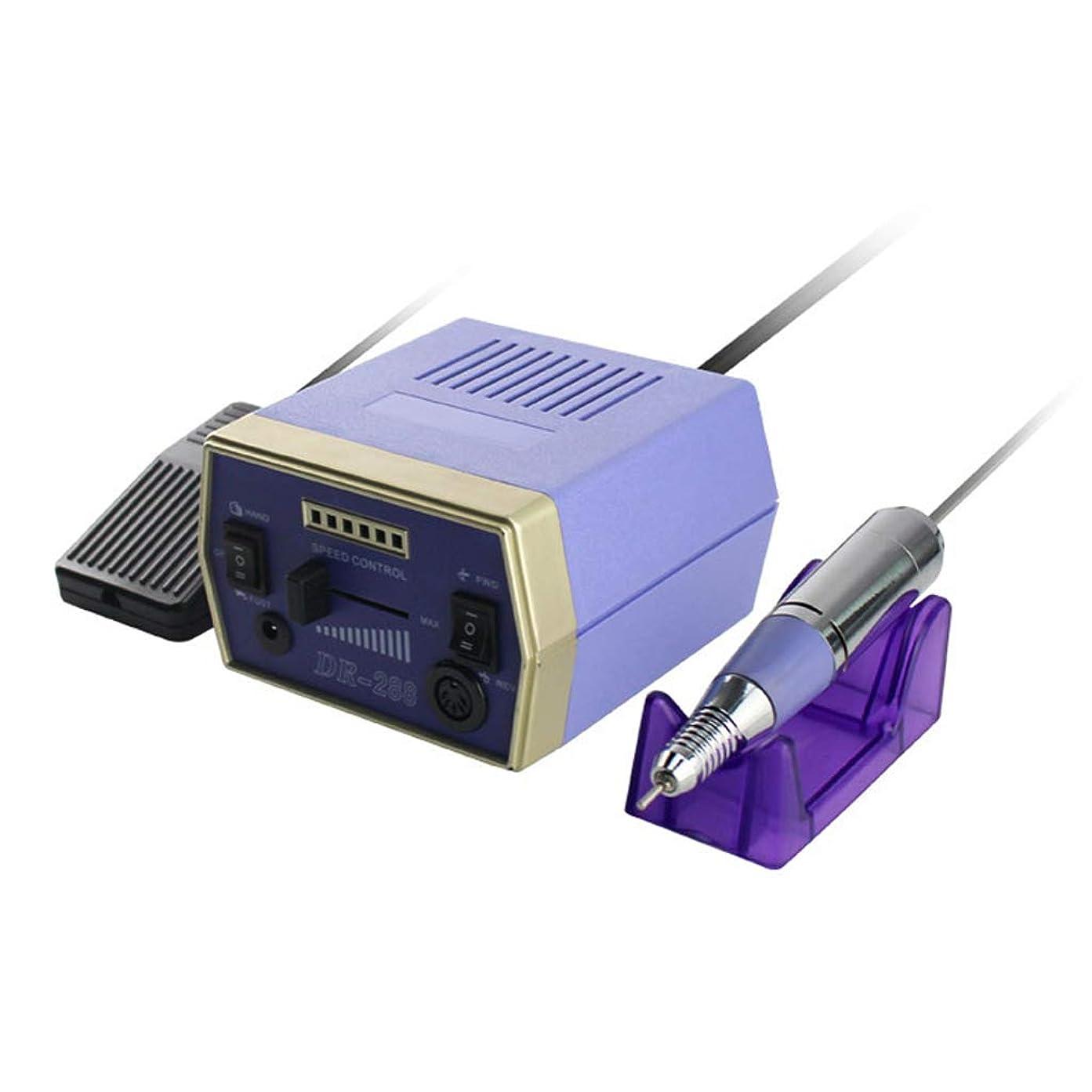 送信する旅酔っ払い爪電動グラインダー3万ターンマニキュアペディキュア低熱低ノイズ振動研磨ツール