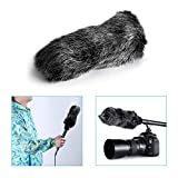 Neewer® NW-MIC-121 Outdoor Microphone Furry Windscreen Muff for MIC-01 MIC108 MIC-121 Stereo Microphone, TAKSTAR SGC-598, NW-598, SHENGGU SG209 SG108 & Similar Mics