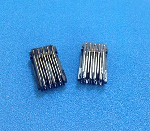 JRUIAN Nuevo Conjunto de 2 Piezas CSIC para Epson XP310 XP313 XP410 XP420 XP430 WF-2510 2520 2530 2540 2630 2631 2650 2660 Placa de Chip de Cartucho