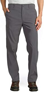 36x32 UNIONBAY Mens Rainier Lightweight Comfort Travel Tech Chino Pants Ubtech Charcoal