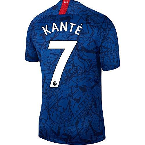 Nike Chelsea Home Kanté 7 Trikot 2019-2020 (offizieller Premier League-Druck), Herren, blau, XX-Large