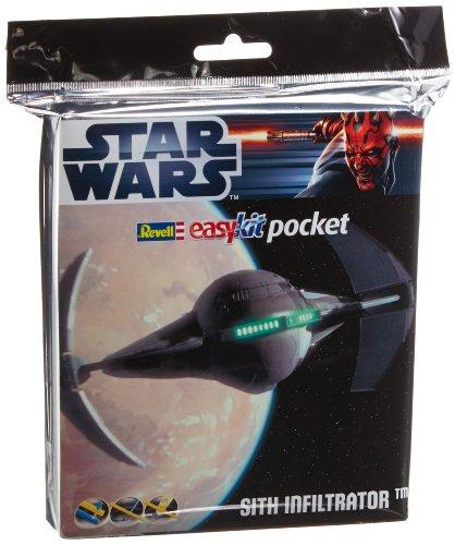 Revell Easykit Star Wars - Maqueta de cimitarra sith (tamaño de Bolsillo) - Figura Star Wars Infiltrador Sith