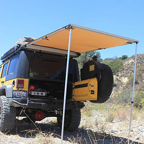Tuff Stuff Overland 4.5 X 6' Rooftop Awning