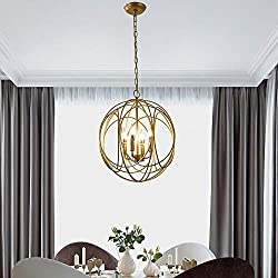gold globe pendant light cheap and stylish lighting