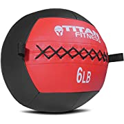 Titan Soft Wall Ball Medicine 6-30 lb Core Workout Cardio Muscle Exercises