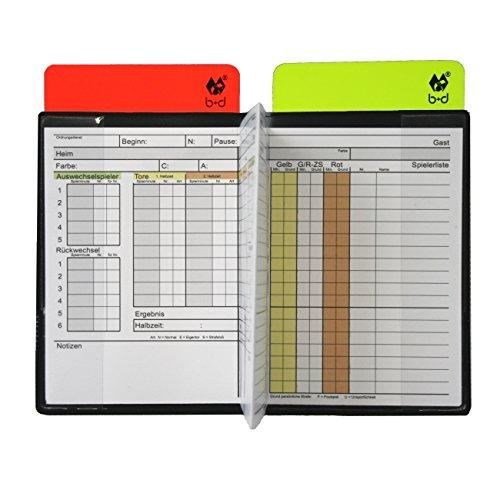 B+D Schiedsrichter - Pocket - Set im FIFA-Maß, Fußball