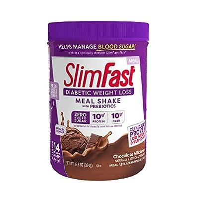 Slimfast Diabetic Weight Loss,Milkshake Mix
