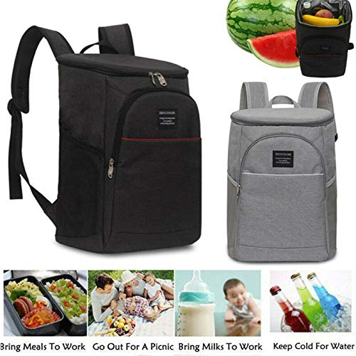 Best Quality Portable Insulated Cooler Bag Lunch Picnic Backpack Thermal Shoulderbag Big Box, Insulated Picnic Set - Backpack Insulated, Picnic Cooler Bag, Cooler Bag, Lunch Coolers