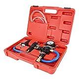 Kit de sistema de enfriamiento,Akozon tanque de agua para automóvil refrigerante anticongelante repuesto herramienta de recarga de refrigerante kit de reparación automática