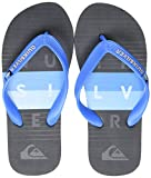 Quiksilver Molokai Word Block Youth, Zapatos de Playa y Piscina para Niños, Azul (Blue/Black/Blue Xbkb), 28 EU
