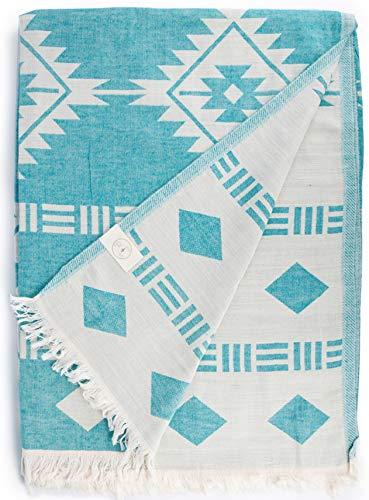 Bersuse Türkische Decke 100% Baumwolle — Belize...