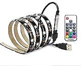 Vansuky USB Tiras LED Iluminación, SMD 5050 60LEDs 1 metro\3.28ft RGB tira fl...