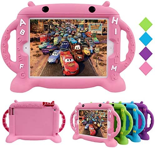 CHINFAI Kids Proof Case for iPad 2 3 4 Shockproof Silicone Protective Cover Self Stand Case product image