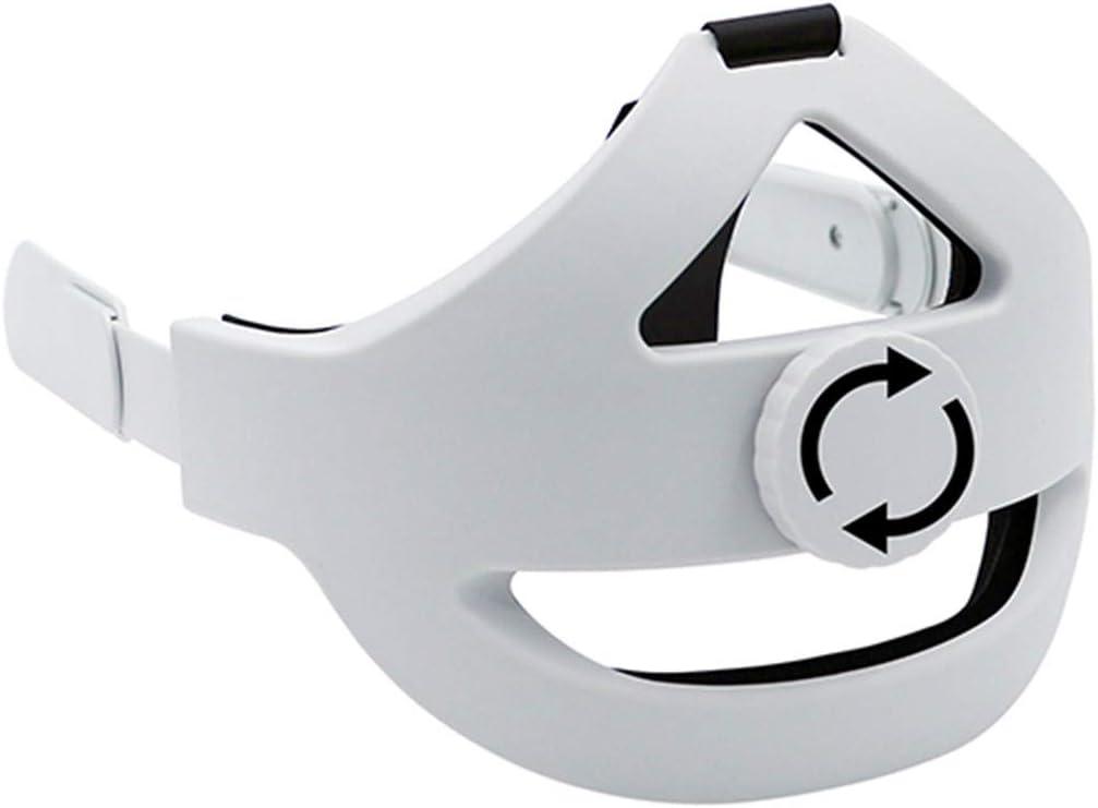Adjustable Head Strap for Oculus Quest 2 VR Headset,Cushioning Foam Comfortable PU Strap, Uniform Force, Relieve Head Pressure