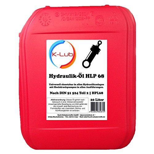 20 Liter K-Lub HLP 68 Hydrauliköl | HLP68 ISO