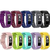 Ruentech Bandas compatibles con Fitbit Ace 2, Correa de Repuesto de Silicona para niños, Compatible con Fitbit Ace 2, rastreador de Actividad física, Correas de Reloj para niños