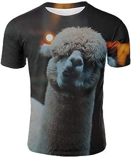 Serious Black Bear Short Sleeve Summer 3D Print T Shirt Grass mud horseTops Dinosaur Tshirt Men Animals