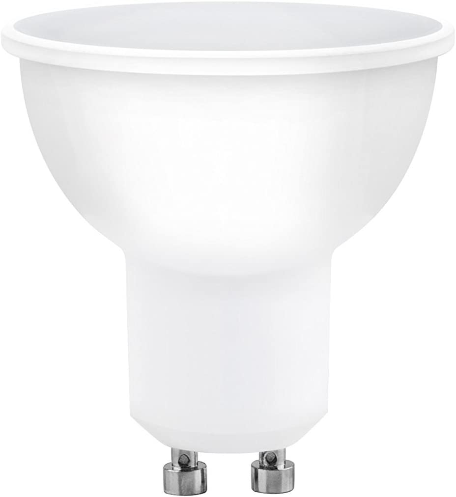 A2BC LED Lighting Bombilla LED GU10, 6 W, Blanco frío 6000K, 1 Unidad (Paquete de 1)
