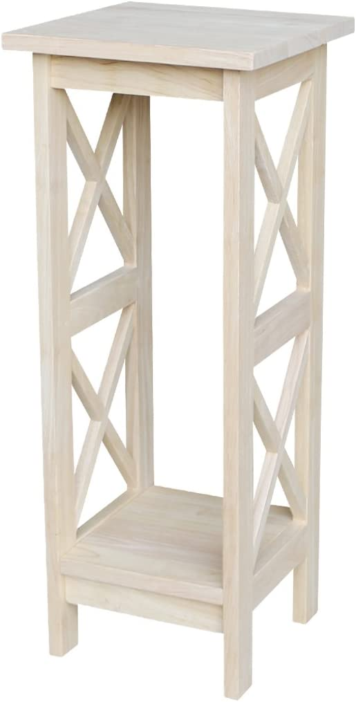 Same day shipping International Concepts Plant Stand 30 Unfinished inch New Orleans Mall