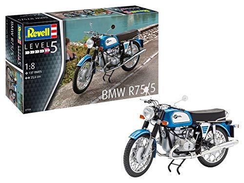 Revell 0793814Maqueta de BMW R75/5Niveles En Escala 1: 8, 5