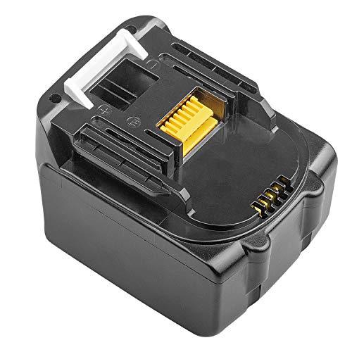 LabTEC BL1430 14,4 V 4000 mAh Batería de litio de repuesto para Makita Batería de 14,4 V BL1440 BL1440B BL1450 BL1415 194066-1 194065-3 194558-0 Batería inalámbrica para herramientas eléctricas
