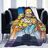 XiaLianNai-shop Die Simpsons Decke Super Soft Velv