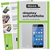 dipos I 6X Schutzfolie matt kompatibel mit Meizu M2 Note Folie Bildschirmschutzfolie