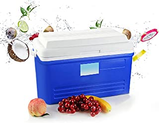 Excursion Cooler Ice Chest 30L Large Cooler Box with Bail Handle for Picnic BBQ Camping Fishing Travel Outdoor Activities ...
