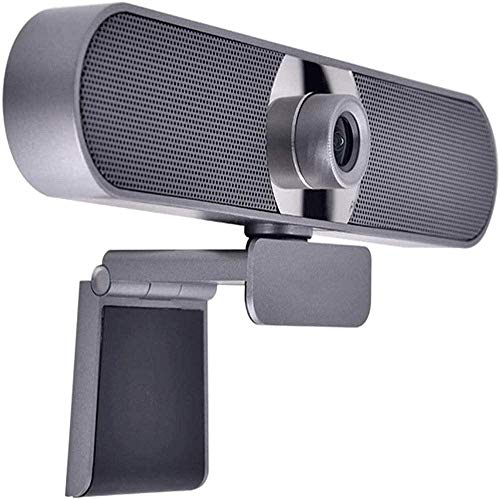 Yibokang WebCam con micrófono, cámara web de 1080p HD, cámara web de transmisión de computadora con ángulo de vista ancha de 120 grados, webcam de PC USB for videollamadas de grabación de conferencias