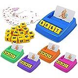 QUUY Matching Letter Game Lernspielzeug für 3-8-jährige Jungen Mädchen, verbesserte Vorschule...