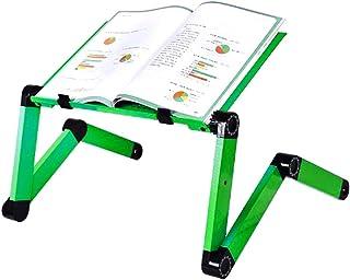 RAINBEAN Adjustable Laptop Stand Table Black