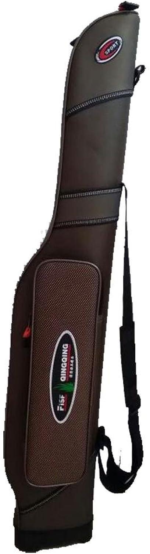 QQA Angeln Beutel Groe Kapazitts 1.2M Angelrute Tackle Bag Angeltasche Rutentasche
