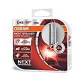 OSRAM XENARC NIGHT BREAKER LASER D1S, + 200%, xenón, 66140XNL-HCB, set de 2