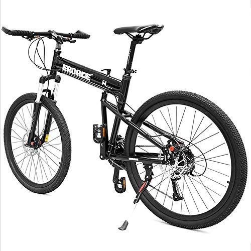 CHEZI Mountain Bike26 Zoll Klapp Mountainbike Fahrrad Erwachsene Off-Road Aluminiumlegierung Stoßdämpfer Fahrrad 30 Geschwindigkeit Männlich