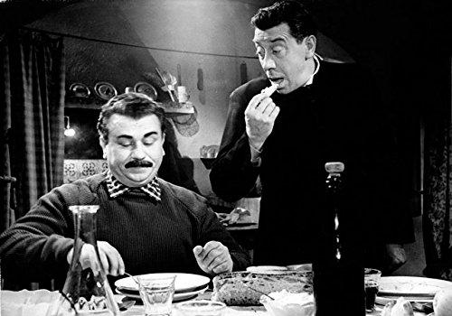Mangiaspaghetti 34 Beppone e Don Camillo cm 35x50 Poster Stampa Cinema Film Affiche Plakat Fine Art Il Negozio di Alex