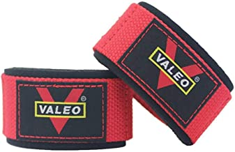 weight lifting bar straps-red color