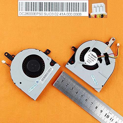 Kompatibel für Toshiba Satellite C55D-B, C50-B, C55DT-B Lüfter Kühler Fan Cooler