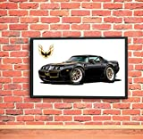 1979 Pontiac Trans Am Firebird Black-Gold T-Tops Car 36