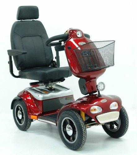 Shoprider Elektromobil TE 889 SLBF Pellworm (15 km/h) Rot