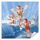 Postereck - 0096 - Baby Engel, Amor - Poster Quadrat 20.0