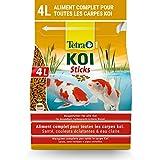 Tetra Pond Koï - Aliment Complet Premium pour Carpes Koï de Bassin – Activateur Naturel de Couleurs - Enrichi en Oligo-éléments, Vitamines essentiels, Caroténoïdes – Hautement digestible - 4 L