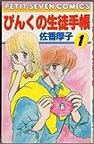 ぴんくの生徒手帳 (1) (フラワーコミックス)