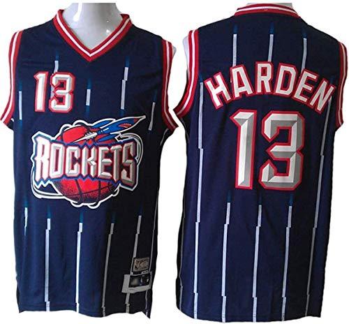 WSUN Camiseta De Baloncesto NBA para Hombre, Houston Rockets NBA 13# James Harden Camiseta De Baloncesto NBA Fan Jersey Camiseta Deportiva Sin Mangas Fresca Y Ligera,L(175~180cm/75~85kg)