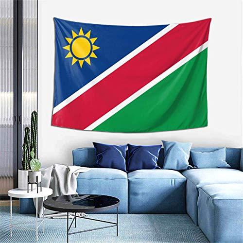 N\A Abstrakte psychedelische Tapisserie Wandbehang, Flagge von Mauretanien Premium Home Art Wanddecken Dekor, Upgrade Wandteppiche für Schlafzimmer Wohnzimmer Studio Co.Wohnheim