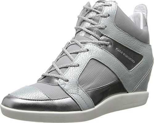 adidas Y-3 by Yohji Yamamoto Sukita II, Silver Metallic/Solid Grey/Chalk White, UK 8 (US Women's 9.5) M