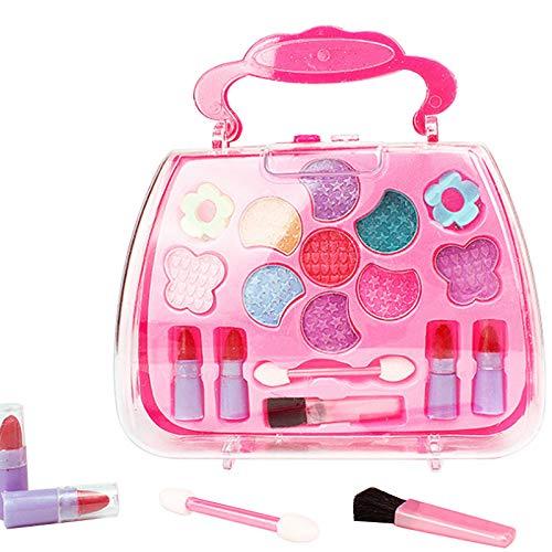 Oulensy 1set Netter Traum Kinder Make-up Kosmetik einfach Lippenstift Lidschatten erröten ungiftig...