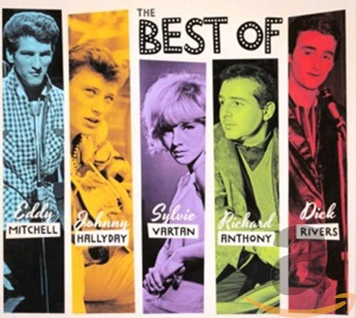 Sylvie Vartan/Eddy Mitchell/Johnny Hallyday/Richard Anthony/Dick Rivers-The Best of