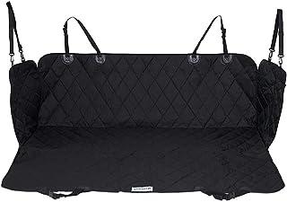 dibea Hunde Autoschutzdecke (Kratzfest, wasserabweisend, abwaschbar) für Rückbank oder Kofferraum, robuste Schondecke aus strapazierfähigem Polyester, Anti Rutsch Boden